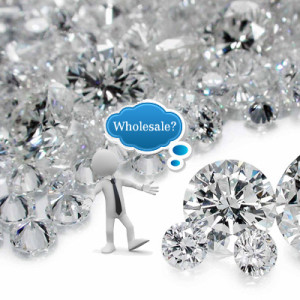 Is it possible to buy diamonds and engagement rings at wholesale prices?