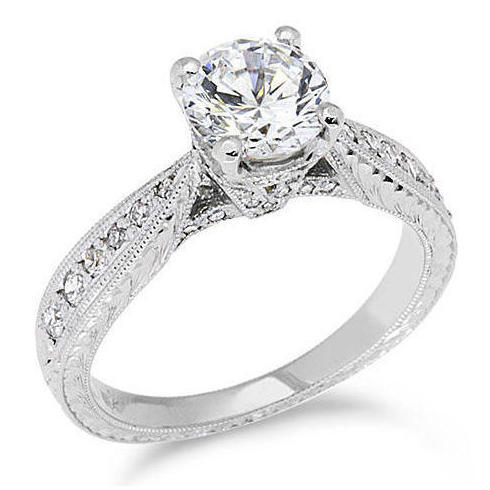 Unique Engagement Rings On Hand