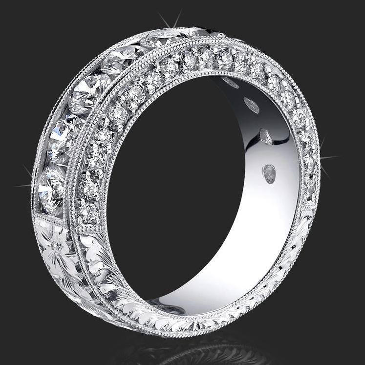 jewelers above and beyond with more than 4 carats of