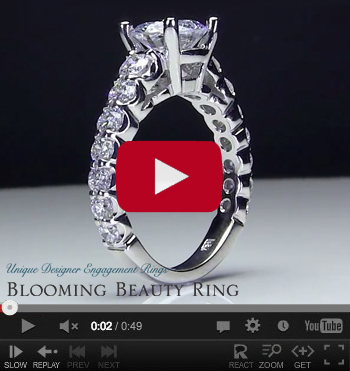 Diamond Antique Engagement Rings Video