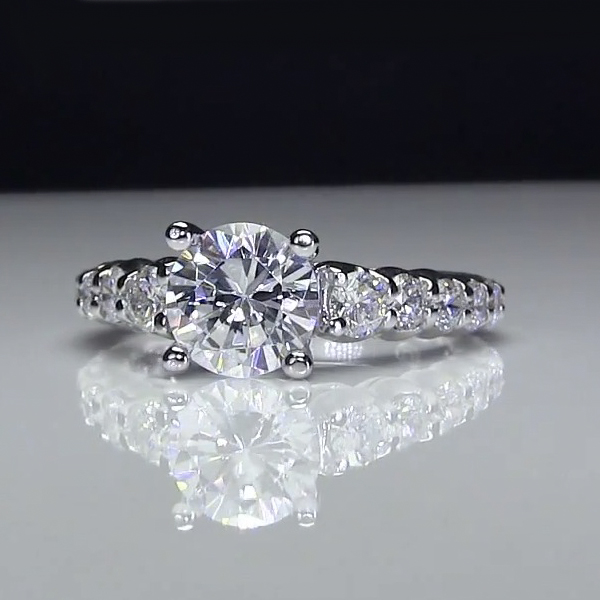 Wedding Combos Unique Engagement Rings for Women by Blooming