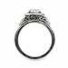 ov033bbr | Antique Filigree Ring | for a 1.8ct. to 1.9ct. oval stone | Romantic Setting