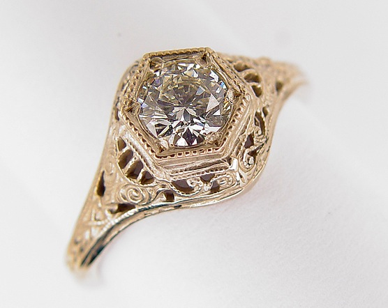 Vintage And Antique Filigree Rings And Jewelry Unique
