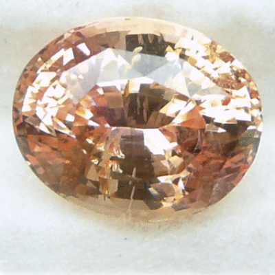 Oval Cut Padparadscha Sapphire