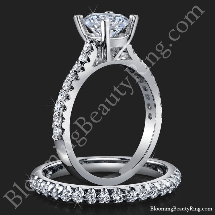 Wedding Band Vs Wedding Ring Unique Engagement Rings For Women By Blooming