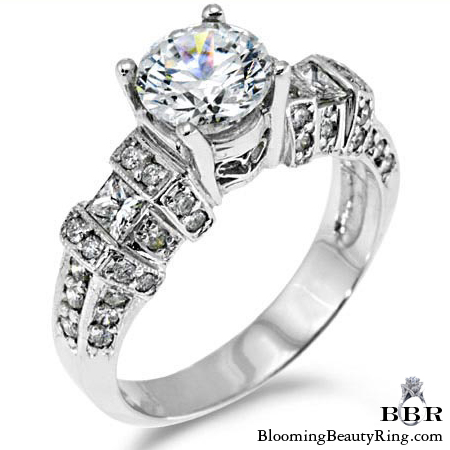 Newest Engagement Ring Design - nrd-5336