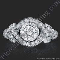 The Eternal Embrace Diamond Engagement Ring 2