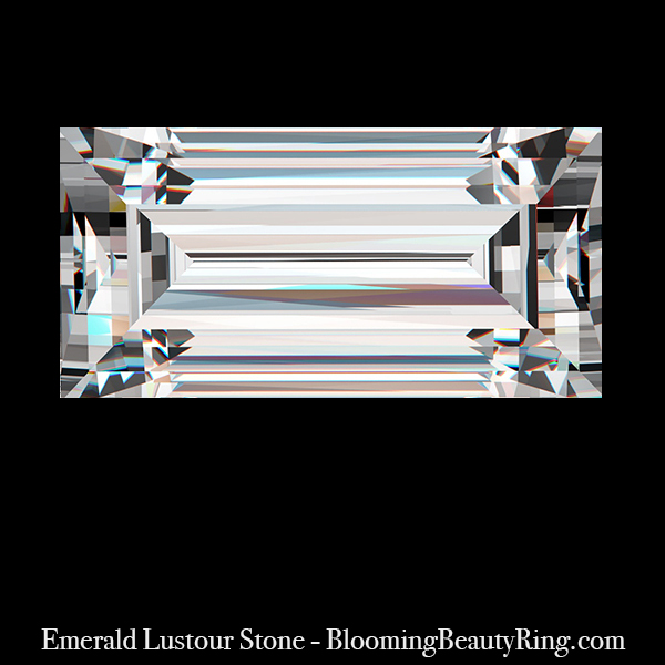 .75 ct. Emerald Cut Lustour Stone