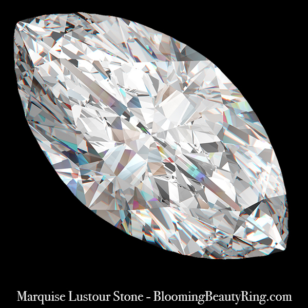 1.25 ct. Marquise Cut Lustour Stone