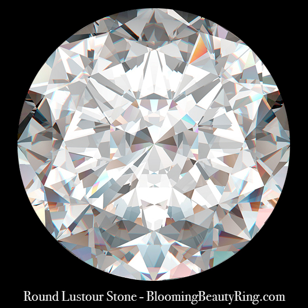 .75 ct. Round Brilliant Lustour Stone