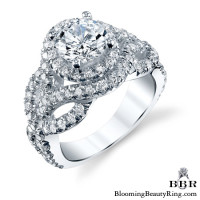 1.25 ctw. 14K Gold Diamond Engagement Ring - nrd592