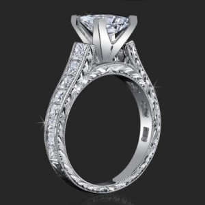Stacked Diamonds Classical Square Cathedral for Any Size or Any Shape Center Mount – bbr334