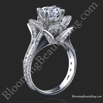 1.78 ctw. Blooming Beauty Flower Ring