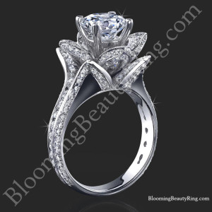 1.78 ctw. Blooming Beauty Flower Ring-Small