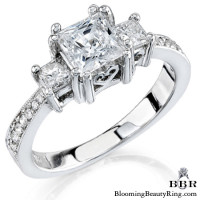 .59 ctw. 14K Gold Diamond Engagement Ring – nrd259