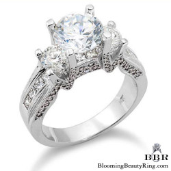 1.50 ctw. 14K Gold Diamond Engagement Ring - nrd293