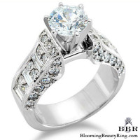 1.50 ctw. 14K Gold Diamond Engagement Ring – nrd305