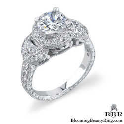 1.04 ctw. 14K Gold Diamond Engagement Ring - nrd316