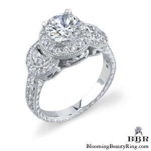 1.04 ctw. 14K Gold Diamond Engagement Ring – nrd316