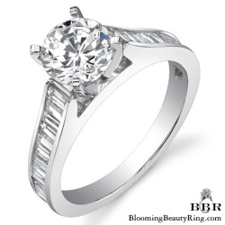 Newest Engagement Ring Design - nrd-334-1