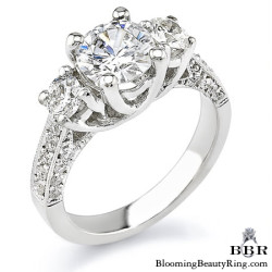 Newest Engagement Ring Design - nrd-336
