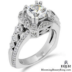 Newest Engagement Ring Design - nrd-355