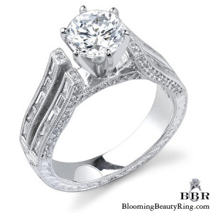 1.25 ctw. 14K Gold Diamond Engagement Ring – nrd388