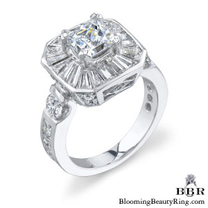 3.46 ctw. 14K Gold Diamond Engagement Ring – nrd394