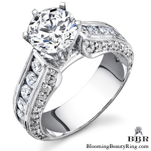 1.40 ctw. 14K Gold Diamond Engagement Ring – nrd411e-1