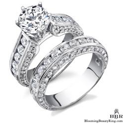 Newest Engagement Ring Design - nrd-411eb-1