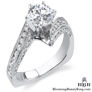 .75 ctw. 14K Gold Diamond Engagement Ring – nrd413