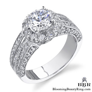 1.65 ctw. 14K Gold Diamond Engagement Ring – nrd418