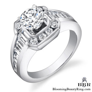1.20 ctw. 14K Gold Diamond Engagement Ring – nrd437