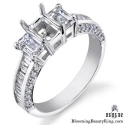 1.58 ctw. 14K Gold Diamond Engagement Ring - nrd444