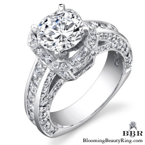 2.36 ctw. 14K Gold Diamond Engagement Ring – nrd451