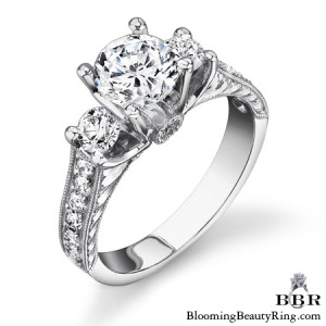 .80 ctw. 14K Gold Diamond Engagement Ring – nrd463