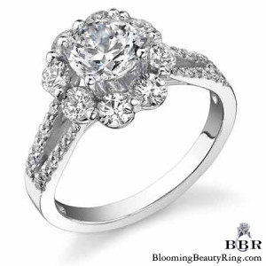1.07 ctw. 14K Gold Diamond Engagement Ring – nrd470