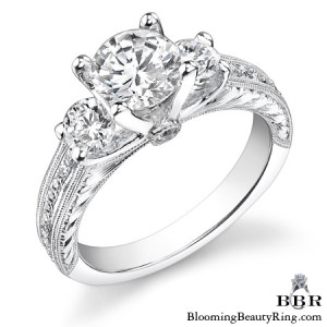 .65 ctw. 14K Gold Diamond Engagement Ring – nrd477