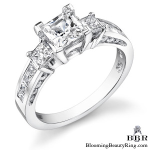 .95 ctw. 14K Gold Diamond Engagement Ring – nrd497
