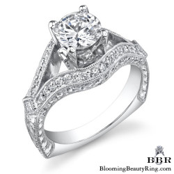 Newest Engagement Ring Design - nrd-500