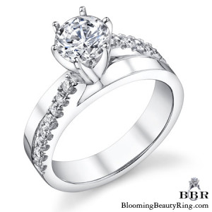 .38 ctw. 14K Gold Diamond Engagement Ring – nrd503