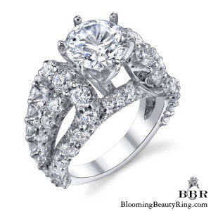 3.45 ctw. 14K Gold Diamond Engagement Ring – nrd513