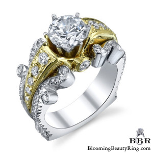 .85 ctw. 14K Gold Diamond Engagement Ring – nrd519-1