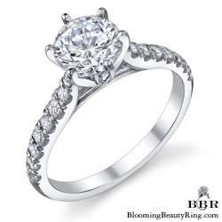 Newest Engagement Ring Design - nrd-538e
