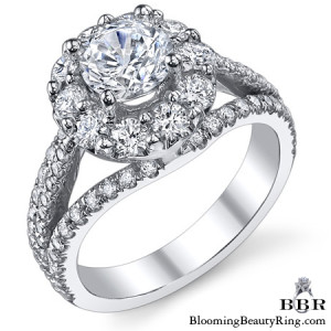 1.25 ctw. 14K Gold Diamond Engagement Ring – nrd539