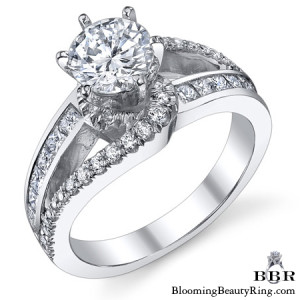 .85 ctw. 14K Gold Diamond Engagement Ring – nrd540