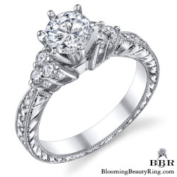 Newest Engagement Ring Design - nrd-541-1