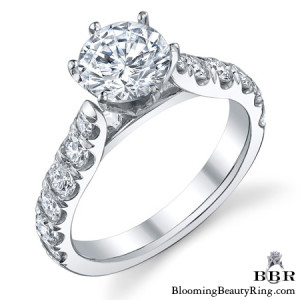 .90 ctw. 14K Gold Diamond Engagement Ring – nrd546