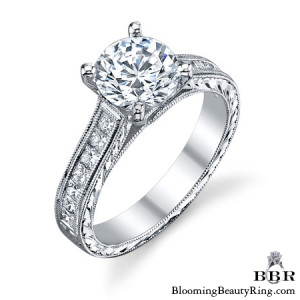 .65 ctw. 14K Gold Diamond Engagement Ring – nrd555