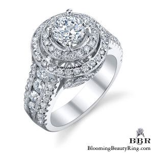 1.78 ctw. 14K Gold Diamond Engagement Ring – nrd562